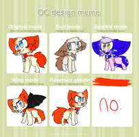 Oc Design Meme Thing by crazy-rainbow-zombie