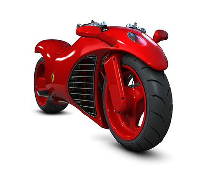 ferrari motorcycle by GaaraofHSV