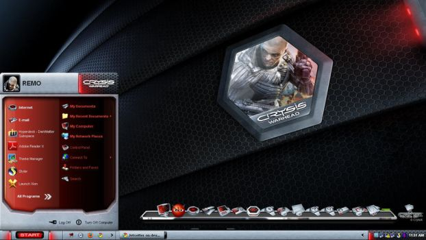 Crysis Warhead Desktop by Jetsetter