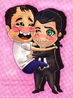Trevor and Michael Bromance by ManishaChan