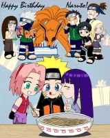 Naruto's Birthday Bash by ToonTwins