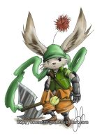 A cool Moogle by COOLness-God