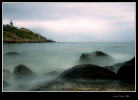 le phare de Chausey by tiquitiqui