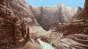 Grand Canyon study by Kubeen