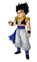 Kid Gogeta by SpongeBoss
