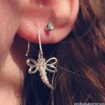dragonfly earring by sataikasia