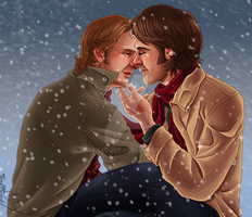 Sabriel Winter Gif by VaultScout