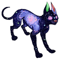 Space Cat Pixel by Olive-and-an-Arrow