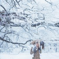 First snow.. by Khomenko