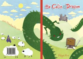 St Colin and the Dragon cover by philippajudith