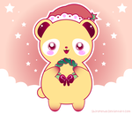 Sweet Christmas Panda by shiropanda