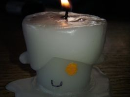 Litwick candle (other view) by Eyeheartz0rd