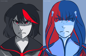 kill la kill (palettes) by iDrawDreams