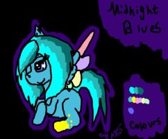 Midnight Blues by XRadioactive-FrizzX