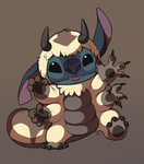 Appa Suit Stitch by HappyCrumble