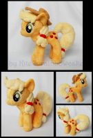 My Little Pony Applejack Plush by Rainbow-Kite