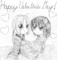 A Late Valentine's Day by MitsukiChan313
