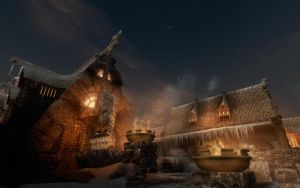 Skyrim Windhelm by chicack