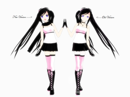 MMD - New and Old by XxRandomParanoiaxX