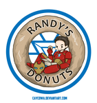 Iron Man - Randy's Donuts by caycowa