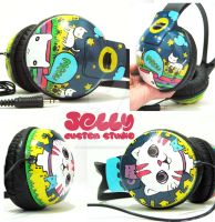 City cat headphone by PoppinCustomArt