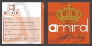 Lunchcard Queensday by simoner