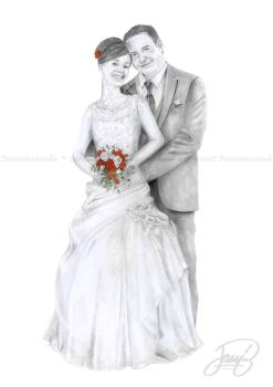 Wedding Portrait by JanitA