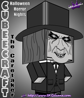 Cubeecraft Halloween Horror Nights The Caretaker by SKGaleana