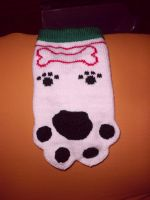 Christmas Stocking for my dog :) by Bloodysue