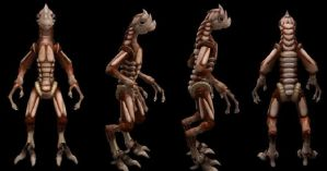 Spore Creation: Trilis by Existent-effigy