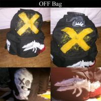 OFF-themed Backpack by ChesterPalm