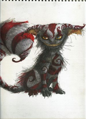 An Artistic View Of The Cheshire Cat The Quot Liddell Quot Things