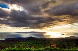 Maui, Hana Highway by alierturk