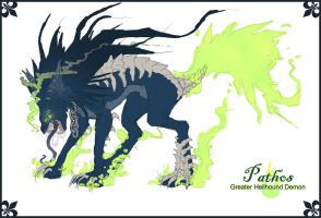 Pathos Sketch - Beast Form by akarui