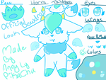 My Official Oc Look - Dewdrop by TheFamousPikachu