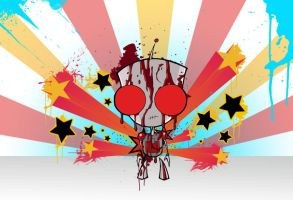 Bloody GIR Wallpaper by SlivErJap