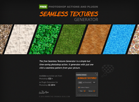 Free Seamless Textures Generator for Photoshop by templay-team