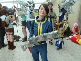 Fallout 3 Cosplay :D by neomon