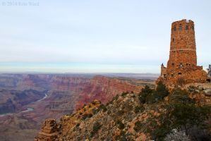 Desert View Watchtower by TurquoiseMoon