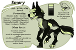 |OC reference Sheet| Emory |Harecats| by 0ktavian