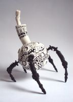 Alien ArachnoPot by mungo-moose