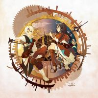 The Clock Makers by zetallis