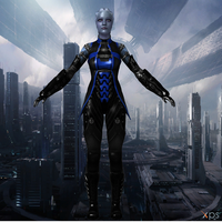 Alt Liara 2 for XNALara by Melllin