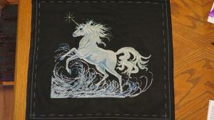 Unicorn Cross Stitch - Part 9 by SorrowsMadness