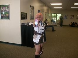 Lightning about to shoot me by PhoenyxAngel