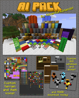 AI Pack texture Minecraft [defunct] by AdventureIslands