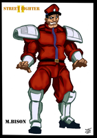 M.Bison - SF II by Cilab