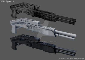 Speed modelled Spas 12 by paulelder