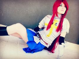 Erza Scarlet cosplay 11 by LadyNoa