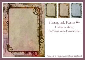 273 Steampunk Frame 04 by Tigers-stock